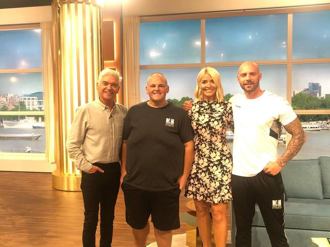Dibsy and Mike appeared on This Morning today. Credit: Mike Hind Fitness