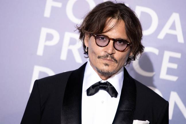 Johnny Depp. Credit: PA
