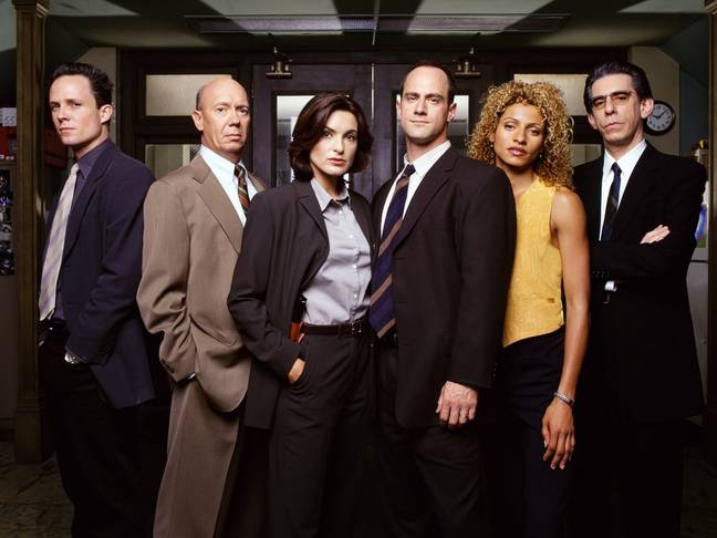 The original Law & Order: Special Victims Unit. Credit: NBC