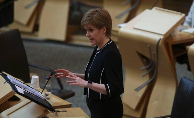 Scotland's First Minister Nicola Sturgeon. Credit: PA