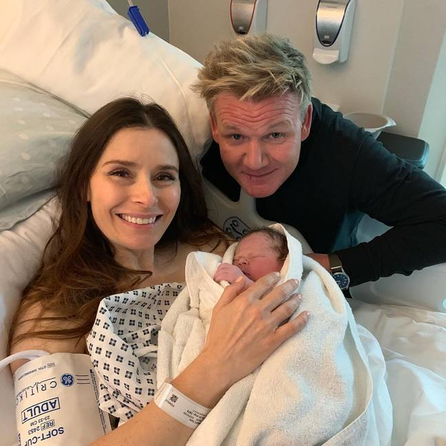 Tana, Gordon and Oscar Ramsay. Credit: Instagram/Gordon Ramsay
