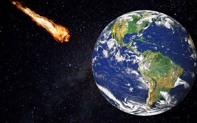 The asteroid has been classed as 'potentially hazardous'. Credit: Pixabay