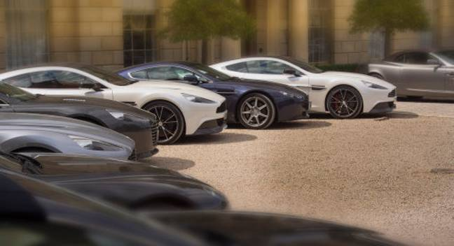 Aston Martin is not a bad choice of car. Credit: PA