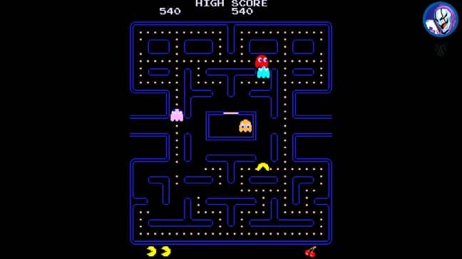 Pac-Man on Antstream Arcade / Credit: Antstream Arcade, Bandai Namco Entertainment