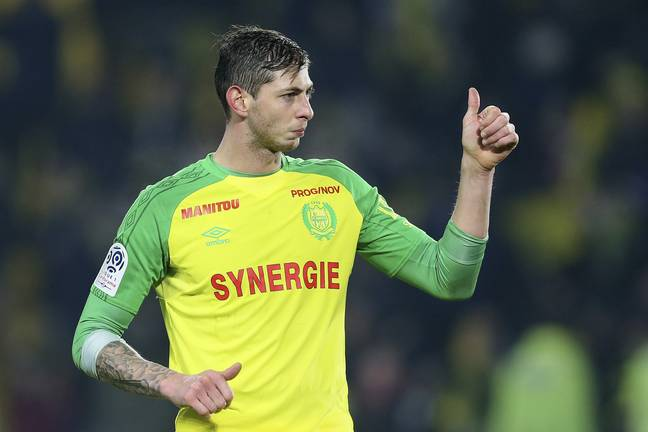 Sala had signed a deal and was joining Cardiff City. Credit: PA