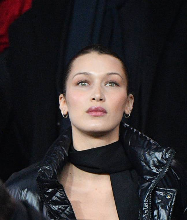 Bella Hadid has a near perfect chin, according to science. Credit: PA