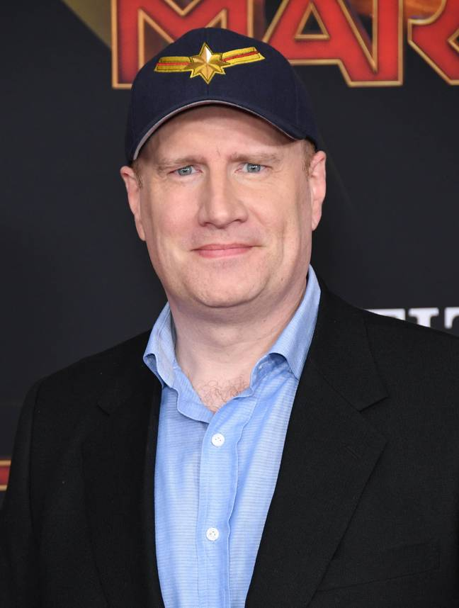 Feige is the president of Marvel Studios. Credit: PA