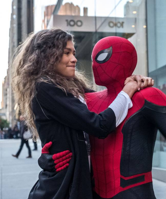 Zendaya Plays Michelle In The Spiderman Movie. Credit: Columbia Pictures