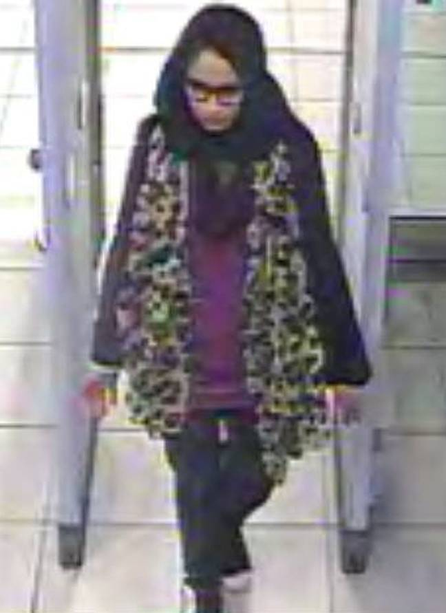 Shamima Begum ran away from the UK to join ISIS when she was 15. Credit: PA