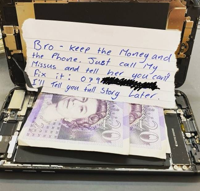 Easy money. Credit: Oli Pickles