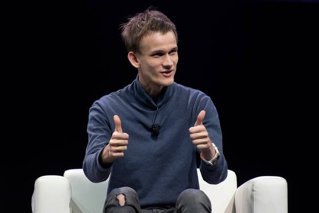 Buterin is probably pretty pleased with the results of his work. Credit: PA