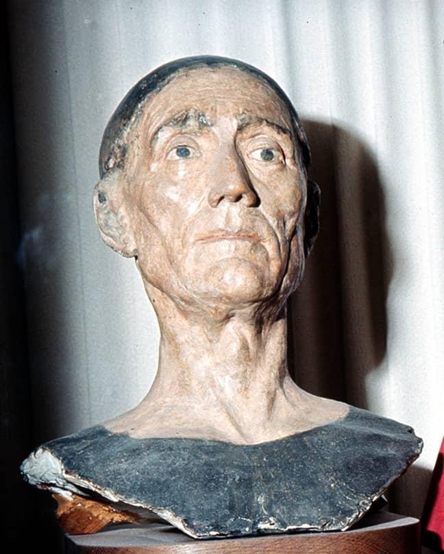 Henry VII's death mask. Credit: PA