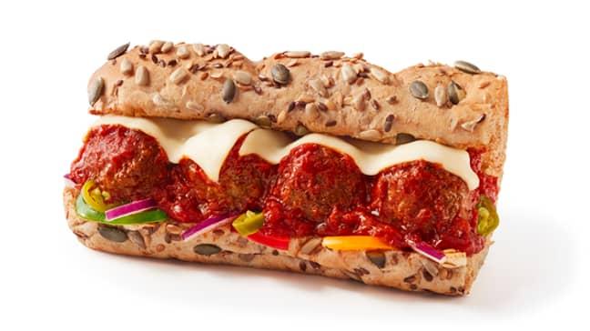 Subway's Meatball Marinara sub. Credit: Subway