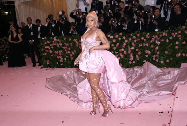Nicki Minaj would probably make a good Catwoman. Credit: PA