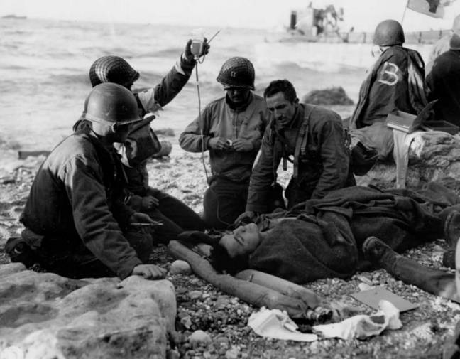 Around 2,500 Allied troops lost their lives at Normandy. Credit: MEDIADRUMIMAGES / NARA