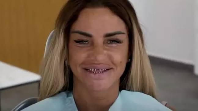 Katie Price revealed her stumps in August. Credit: YouTube/Katie Price
