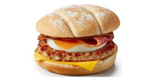 The Breakfast Roll will be available from 21 October. Credit: McDonald's