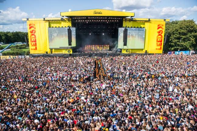 Leeds Festival is a goer. Credit: Shutterstock