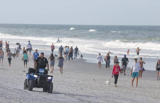 Jacksonville Beach. Credit: David Rosenblum/Icon Sportswire via Getty Images