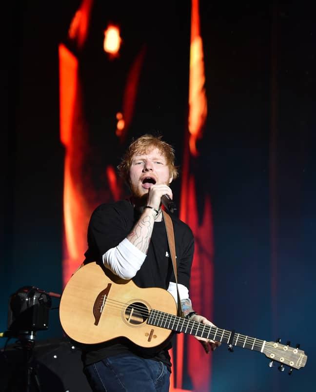 Ed Sheeran raked in the cash last year. Credit: PA