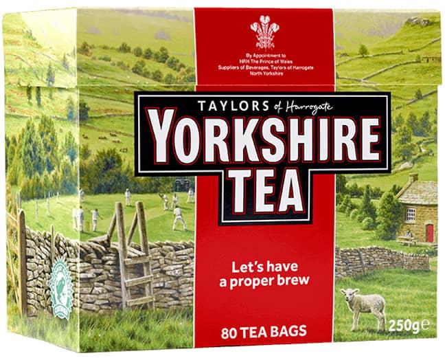 Yorkshire Tea. Credit: Bettys & Taylors Group