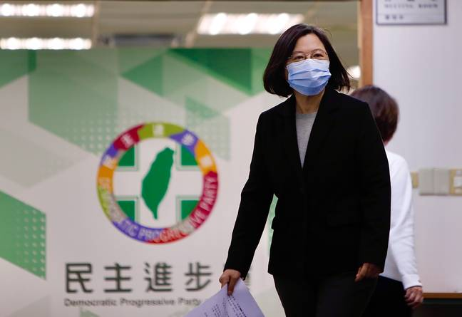 Taiwan President Tsai Ing-wen. Credit: PA
