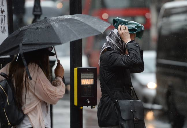 One expert says it could be the worst weather since Storm Hannah. Credit: PA