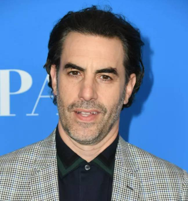 Sacha Baron Cohen, who stars as Borat. Credit: PA
