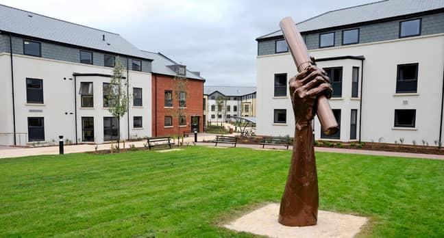 The university's Rowancroft accommodation. Credit: University of Exeter