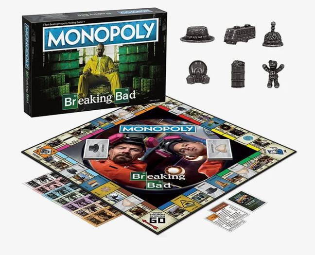 Let's cook. And play Monopoly. Credit: USAopoly