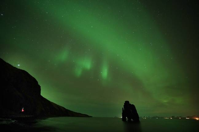 The Northern Lights may be visible from the UK. Credit: PA
