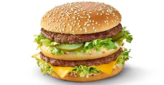 The Grand Big Mac is coming back. Credit: McDonald's