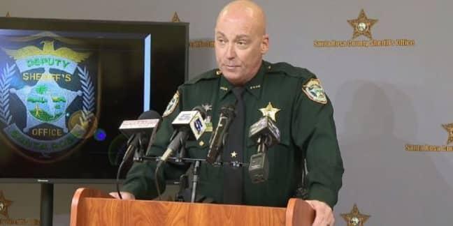 Sheriff Bob Johnson. Credit: ABC News