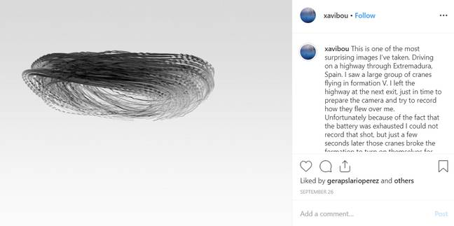 Credit: Instagram/Xavi Bou