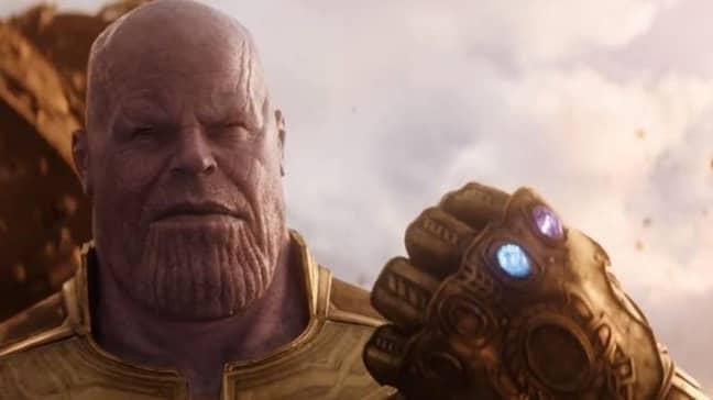 Josh Brolin as Thanos. Credit: Marvel