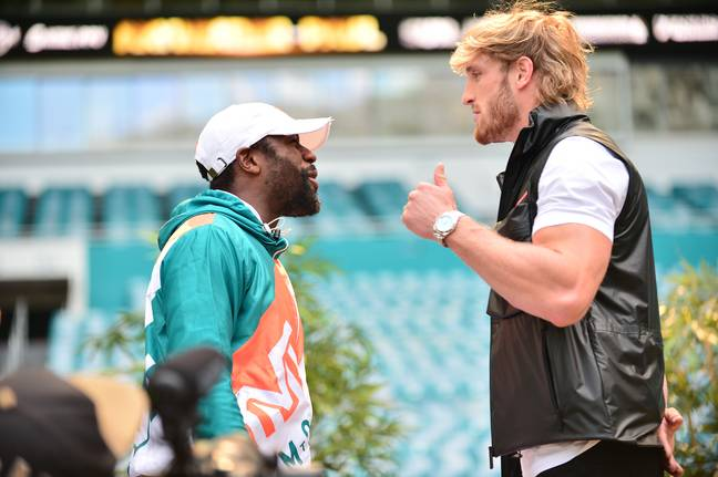 Floyd Mayweather Jr. and Logan Paul are set to fight next weekend. Credit: PA
