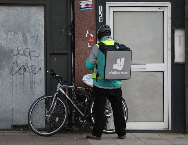 Another trial includes on-demand delivery with Deliveroo. Credit: PA