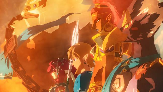 Hyrule Warriors: Age of Calamity's cast of Champions / Credit: Nintendo
