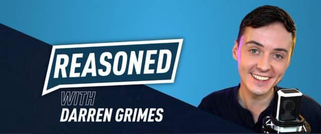 Darren Grimes' podcast Reasoned UK (Credit: Twitter/@reasoneduk)