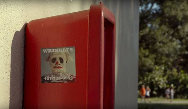 You can hire Wrinkles to scare your kids. Credit: Magnolia Pictures