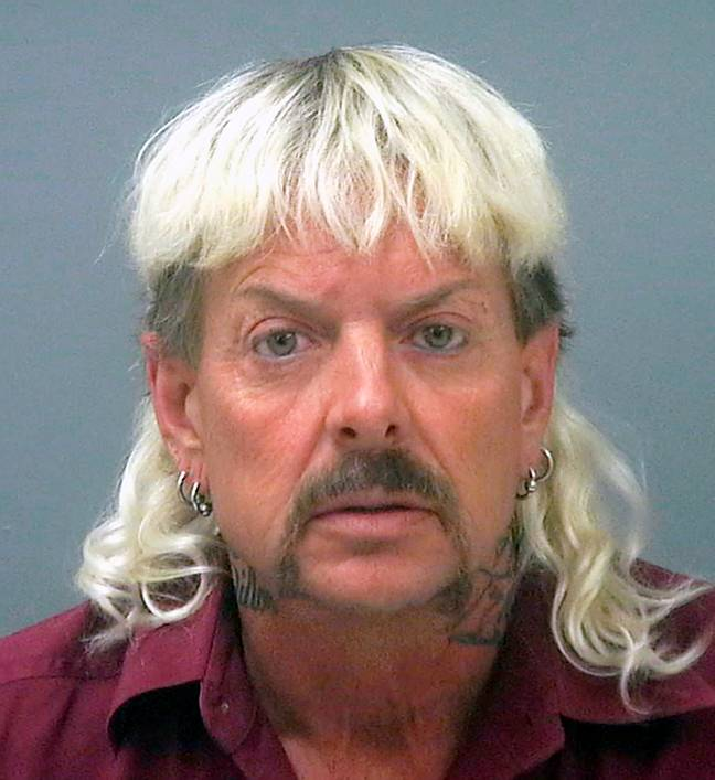 Joe Exotic claims he may be dead in 'two to three months'. Credit: PA