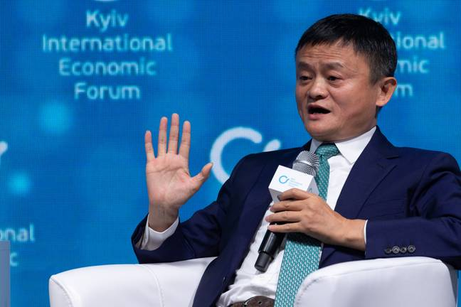 Jack Ma has donated 1.8 million face masks and 100,000 coronavirus test kits to the European countries worst affected by the outbreak. Credit: PA