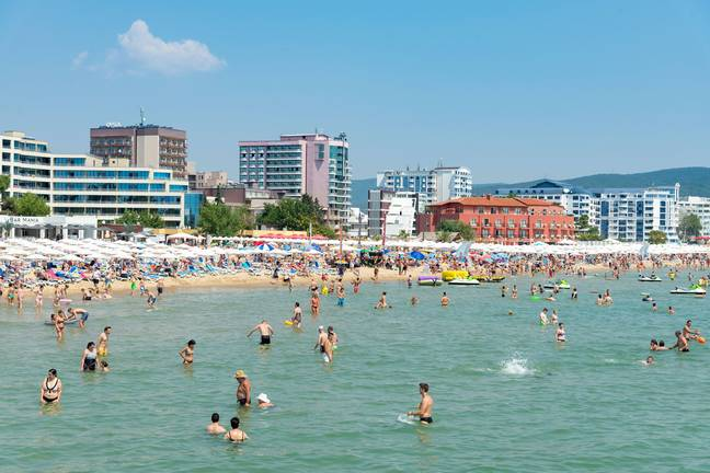 Sunny Beach in Bulgaria has become one of Europe's top party destinations. Credit: Shutterstock