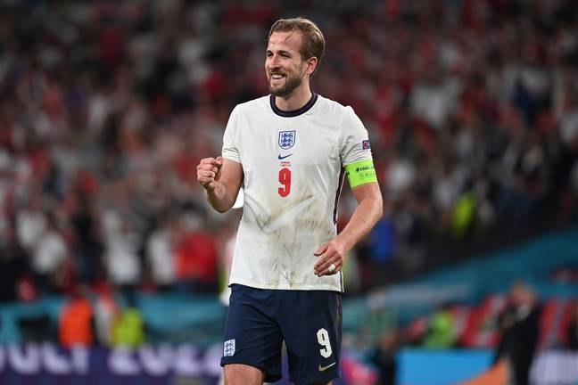 He will now get to see Harry Kane and the boys take on Italy at Wembley in this weekend's final. Credit: SWNS