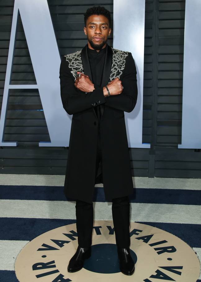 Chadwick Boseman tragically passed away after a four-year struggle with cancer. Credit: PA
