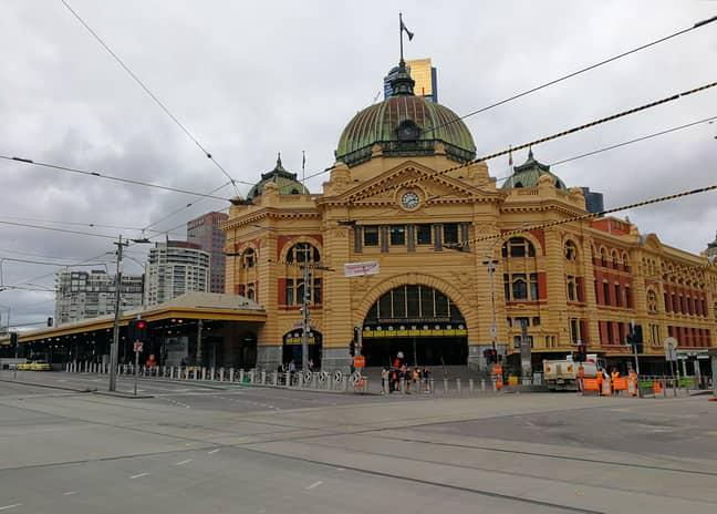 Melbourne during lockdown. Credit: PA