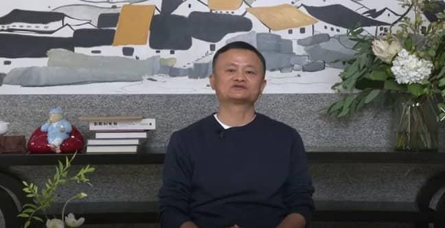 Jack Ma. Credit: Tianmu News