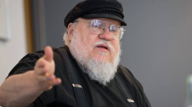 George RR Martin. Credit: PA