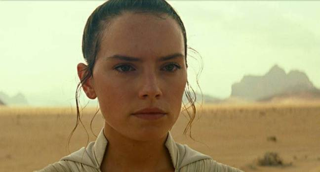 Daisy Ridley Plays Rey in The Rise Of Skywalker. Credit: Disney