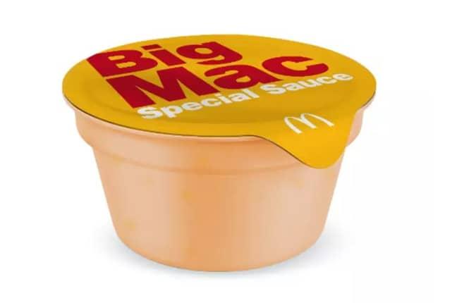The Big Mac sauce. Credit: McDonald's